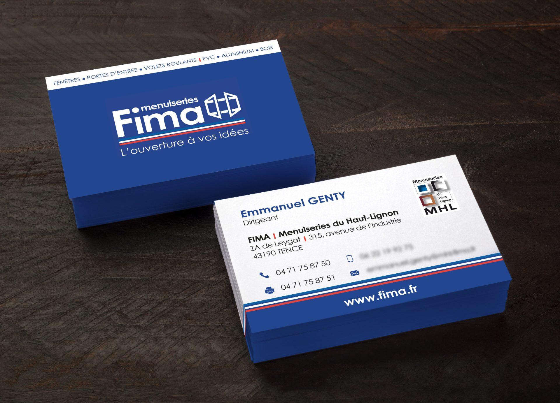 Cartes de Visite Fima by MHL